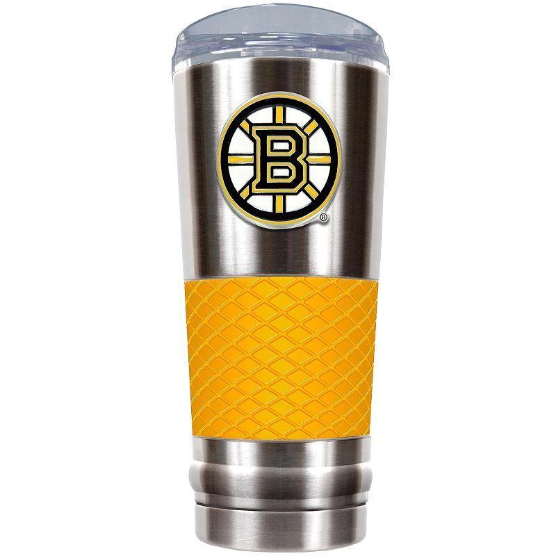 Boston Bruins 24-Ounce Draft Stainless Steel Tumbler, Yellow