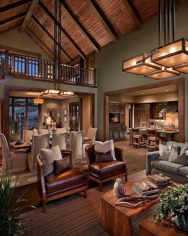Njestates4 On Twitter Rustic Living Room Design Log Cabin Interior Farm House Living Room