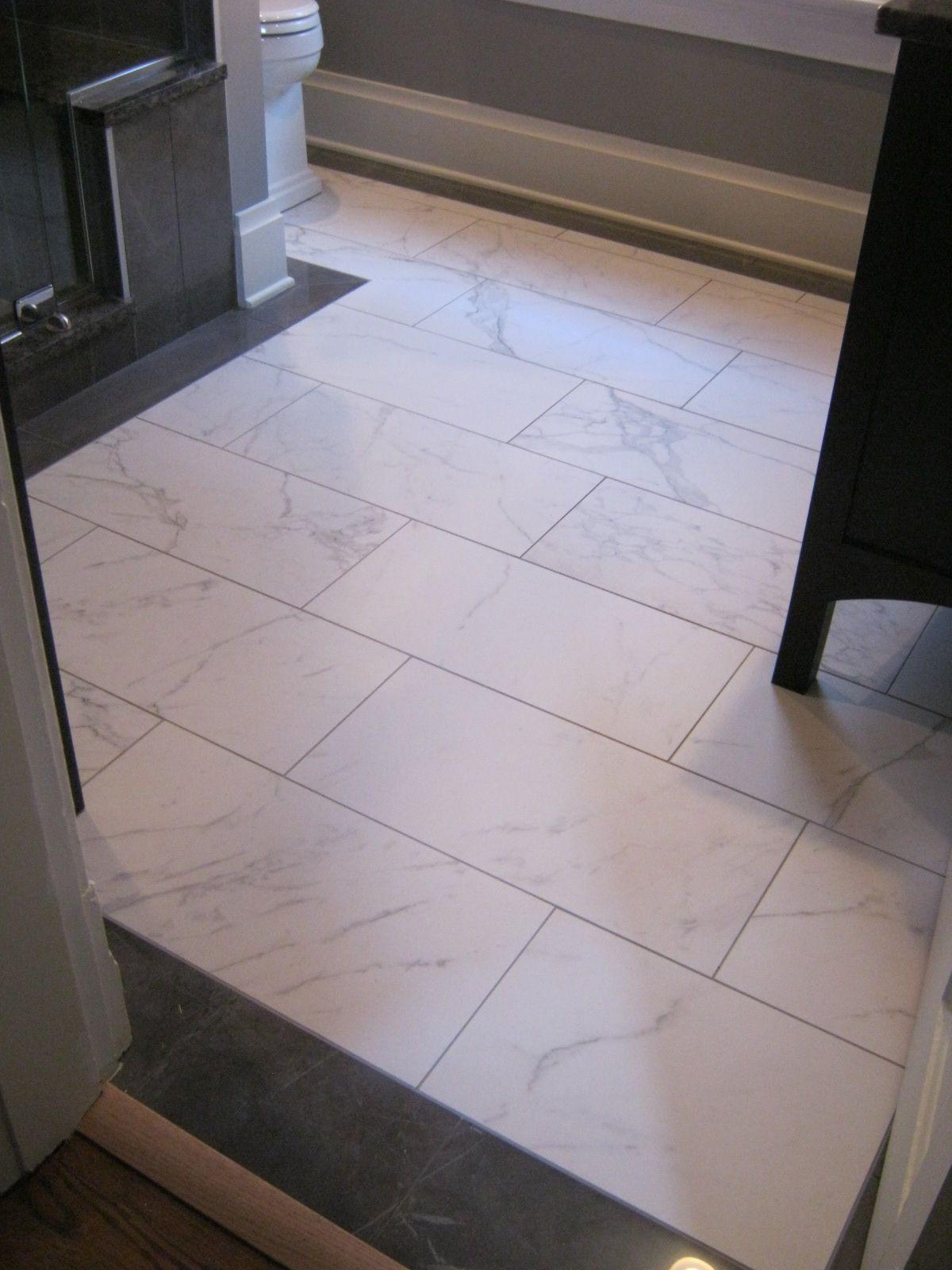 Atlas Marvel Floor Tile Detail Of German Village Bathroom Remodel In Columbus Ohio Designed By Monica Miller Ckd Cbd Cr J S Brown Co