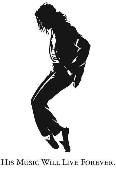Michael Jackson Pintura Preto E Branco Desenhando Retratos