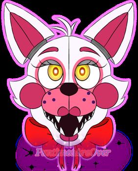 Funtime Foxy Head By Funtimesareover Fnaf Drawings Fnaf Foxy Funtime Foxy