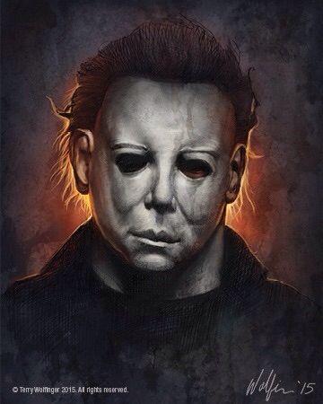 Michael Myers By Terry Wolfinger Com Imagens Filmes De Terror