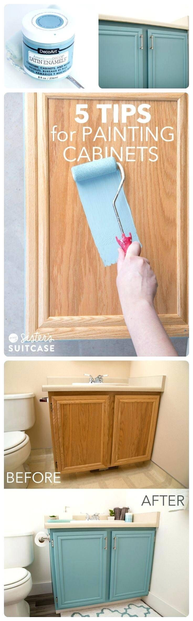 28 Fabulous Painting Ideas To Give Your Furniture A Whole New Look Home Diy Home Remodeling Bathrooms Remodel