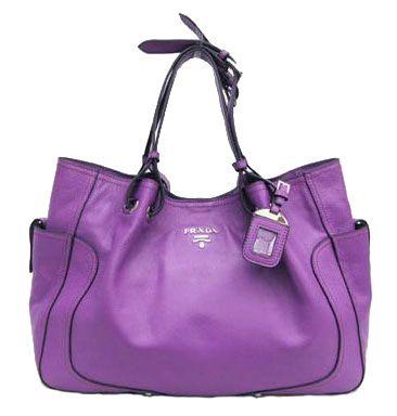 Prada Bag In Purple