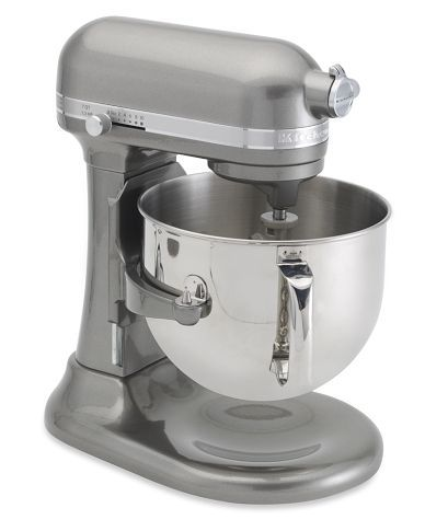 Look At This Beauty This Year Kitchenaid Came Out With A 7qt Capacity Mixer I Love My Bosch But The Stainless Steel Bow Kitchen Aid Mixer Kitchen Aid Mixer