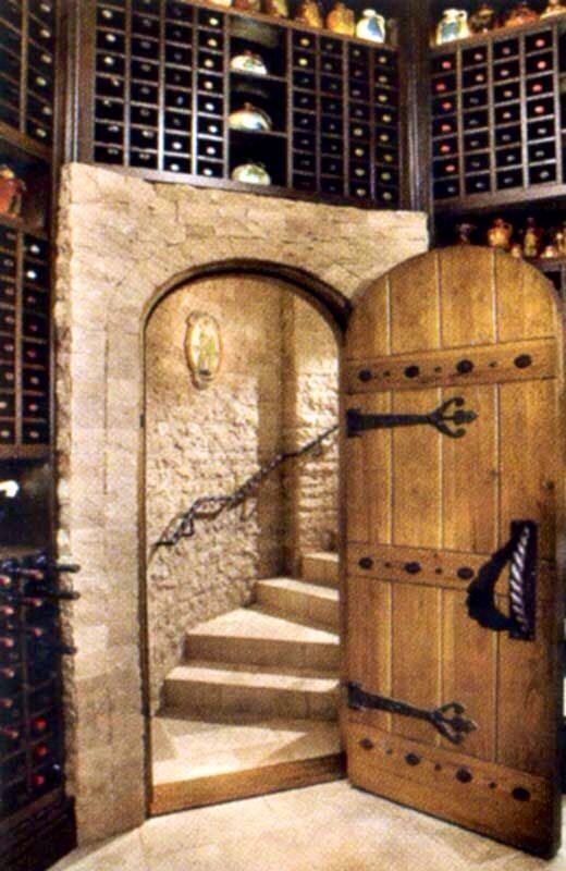 Puerta de cava escape room pinterest weinkeller for Escape room ideen