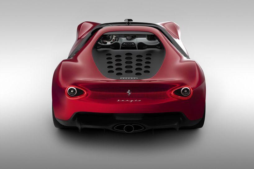 Pininfarina Ferrari Sergio Windshield Less Concept Concept Cars Super Cars Ferrari