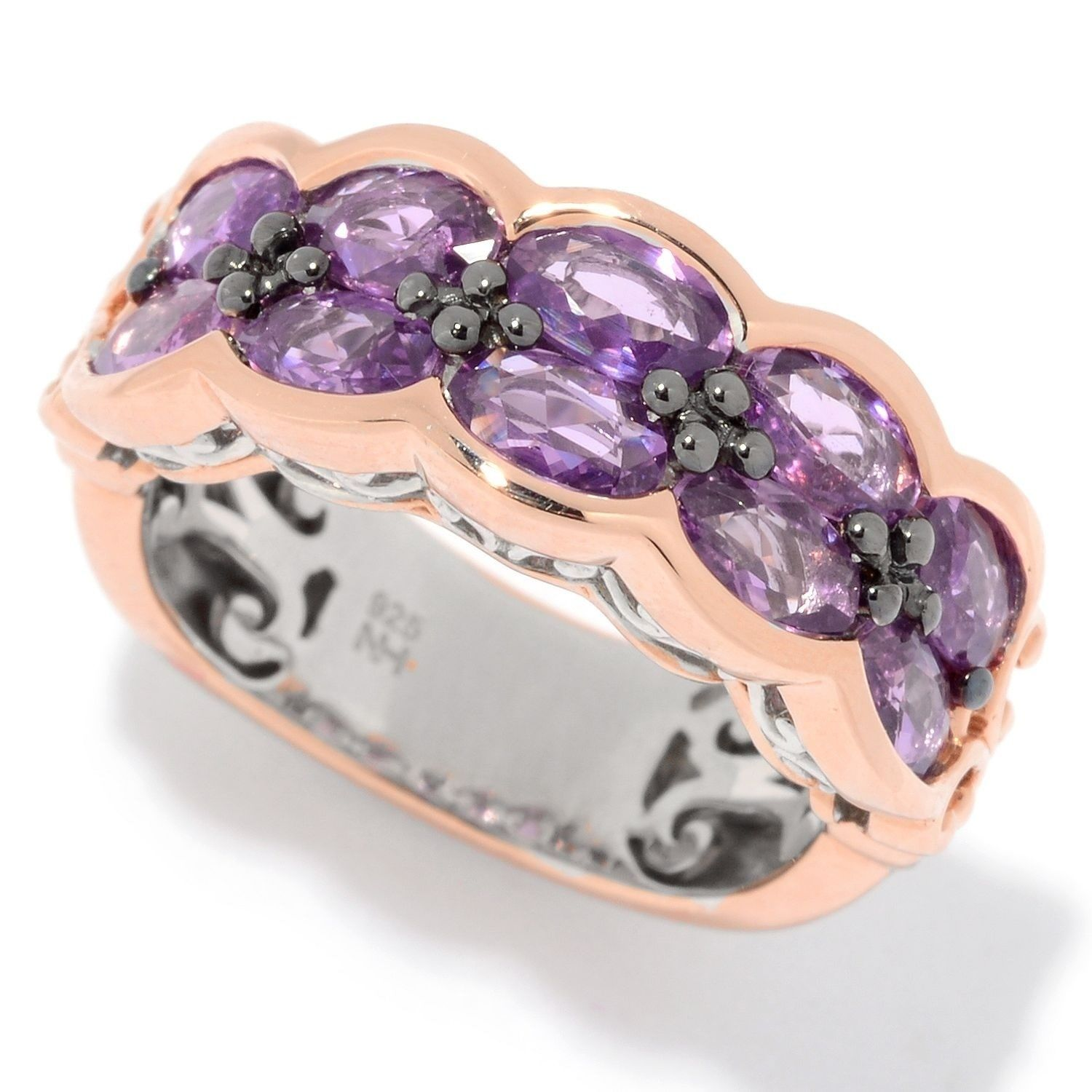 gemstones shimmer band ross rings collections sapphire gallery quadrum tagged lilac reinstein
