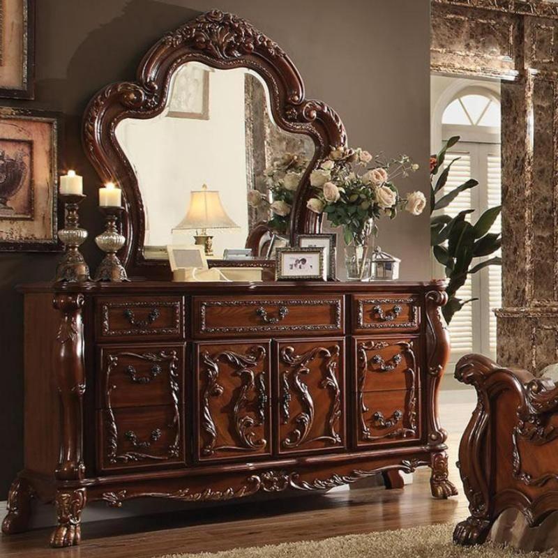 Acme Dresden 12145 Cherry Oak Dresser Oak dresser