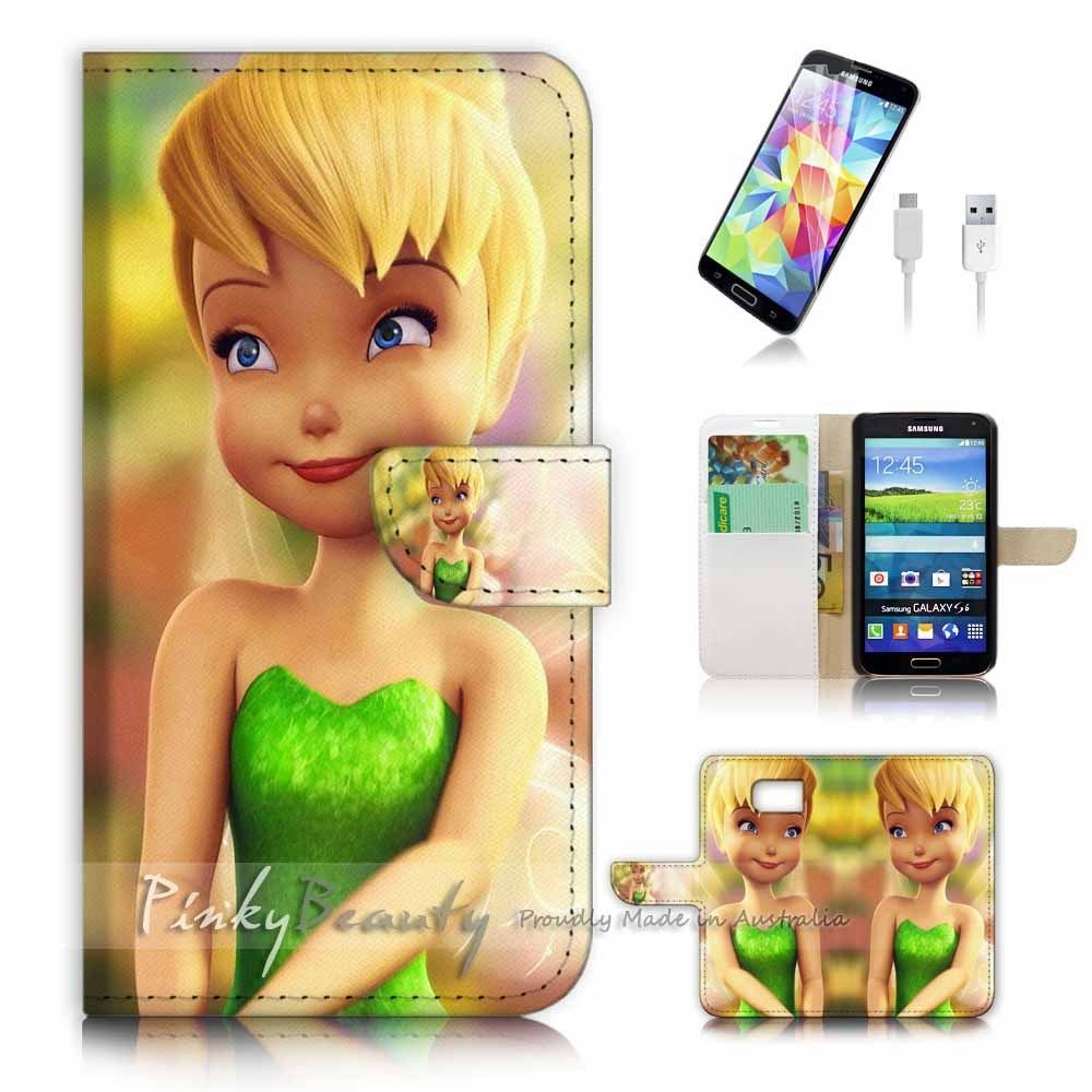 Samsung galaxy s6 flip phone case cover pb10054 tinkerbell flip samsung galaxy s6 flip phone case cover pb10054 tinkerbell voltagebd Image collections