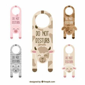 cute door hangers with animals precious moments pinterest door