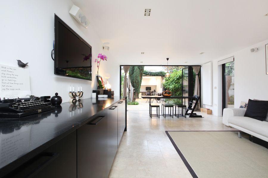 Morgan Harris Architects 123 Reception And Kitchen Through