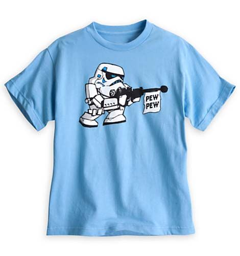 b0af20694658b Disney Child Shirt - Star Wars - Stormtrooper Pew Pew Tee for Kids ...