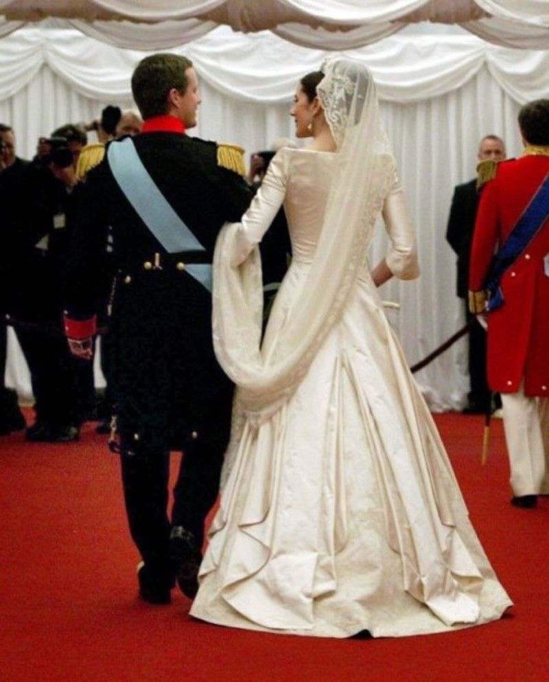 Crown Princess Mary - train removed, very unusual.   Denmark ...