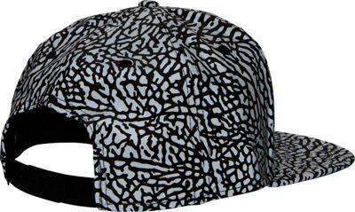 45ad9e0cd56 Jordan Reflective Elephant Print Snapback Hat