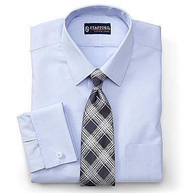 35865b3cfa569 Stafford® Signature Executive French Cuff Shirt - jcpenney