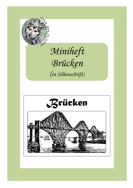 Miniheft Brücken in Silbenschrift  für homeschooling ...