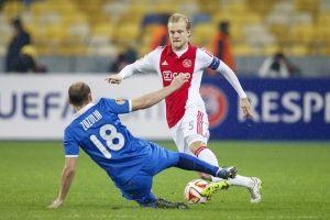 Ajax heeft geen goed resultaat geboekt in de uitwedstrijd Bij Dnipro Dnipropetrovsk. Het duel, die vanwege onrust is Oekraïne werd gespeeld in Kiev, eindigde in een 1-0 nederlaag voor het elftal van Frank de Boer.