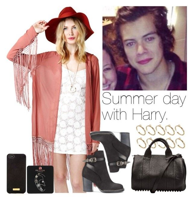 """""""Summer day with Harry."""" by mixerdirectioner4eva ❤ liked on Polyvore featuring ASOS, Purified, Henri Bendel, Alexander Wang, Topshop, women's clothing, women, female, woman and misses"""