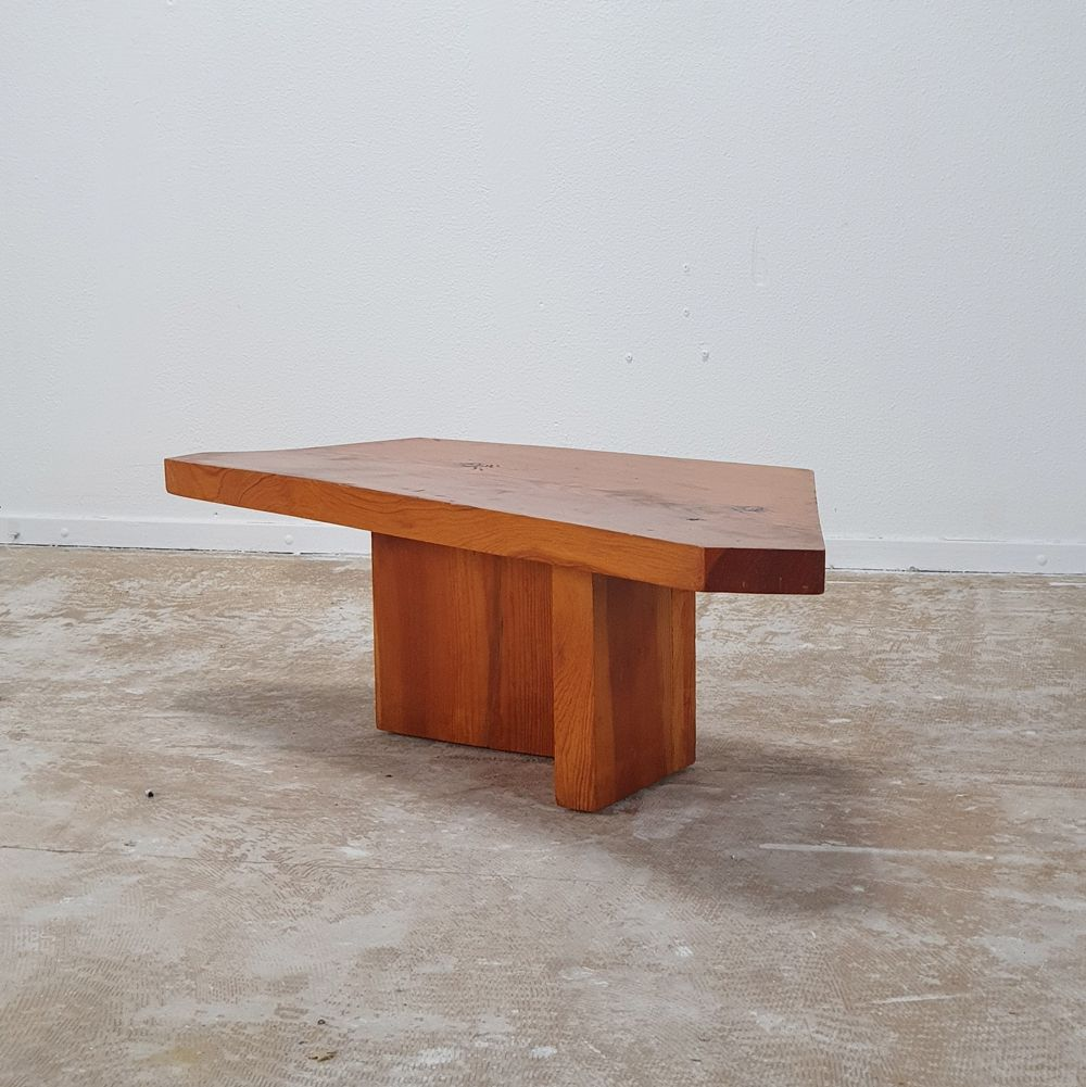 For Sale Asymetrical Coffee Table In Solid Pine 1970s Coffee Table Table Solid Pine [ 1001 x 1000 Pixel ]