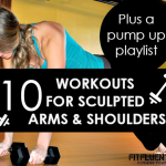 10 Workouts for Sculpted Arms and Shoulders + a Power Playlist