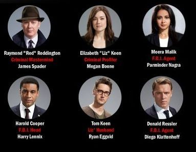 the blacklist cast | the blacklist cast