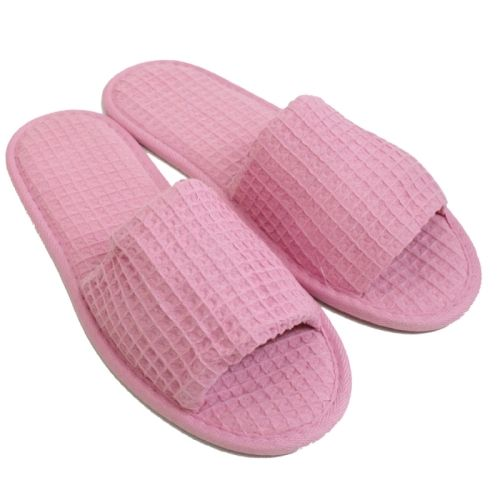 19bc0566d56 Pink luxury hotel slippers