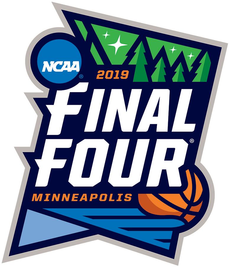 Ncaa Mens Final Four Primary Logo 2019 2019 Ncaa Final Four Logo Event Held In Minneapolis Mi Logo Basketball College Basketball Logos Basketball Finals