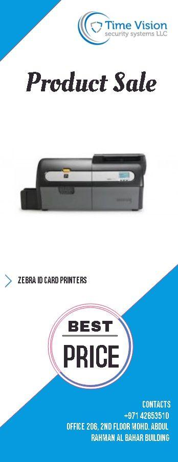 Time Attendance System: Zebra best Id card printers in dubai