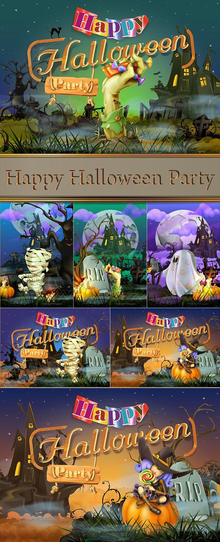 Happy Halloween Party (с изображениями) Штуки для