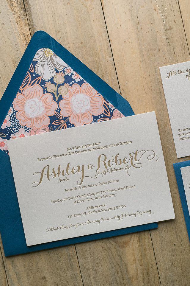 Discount Letterpress Wedding Invitation Packages Wedding Invitation Packages Coral Wedding Invitations Wedding Invitations