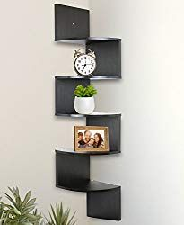 10 Ready Made Storage Ideas For Small Spaces Wall Mounted Corner Shelves Corner Wall Shelves Corner Shelves