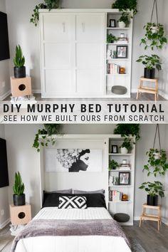 Photo of DIY Murphy Bed Plans // Murphy Bed Hardware Kit DIY