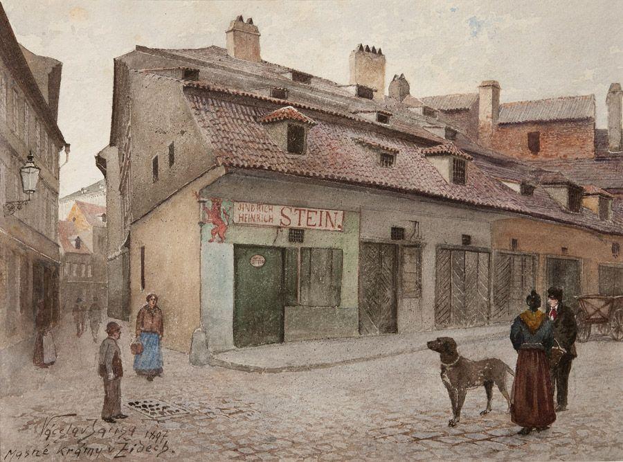 VÁCLAV JANSA (1859 - 1925) Masné krámy