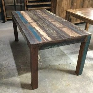 Reclaimed Wood Dining Table Nadeau Los Angeles