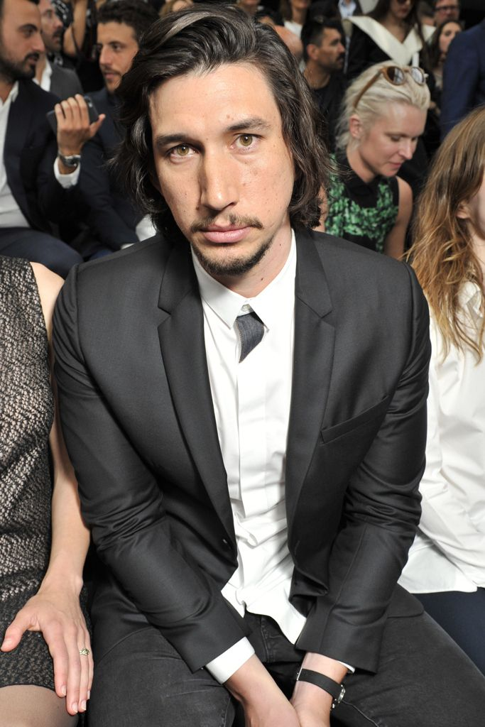 Adam Driver At The Dior Homme Show In Paris On June 27 2015
