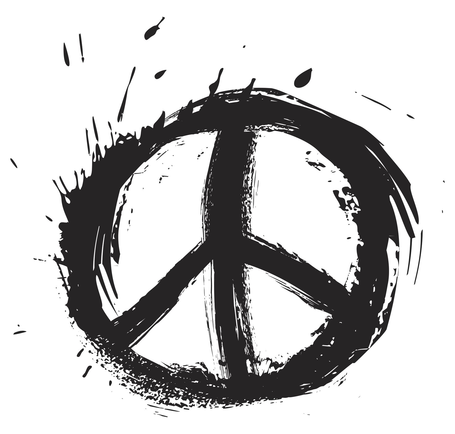 Unique peace sign tattoog peace pinterest peace sign royalty free vector of peace symbol biocorpaavc