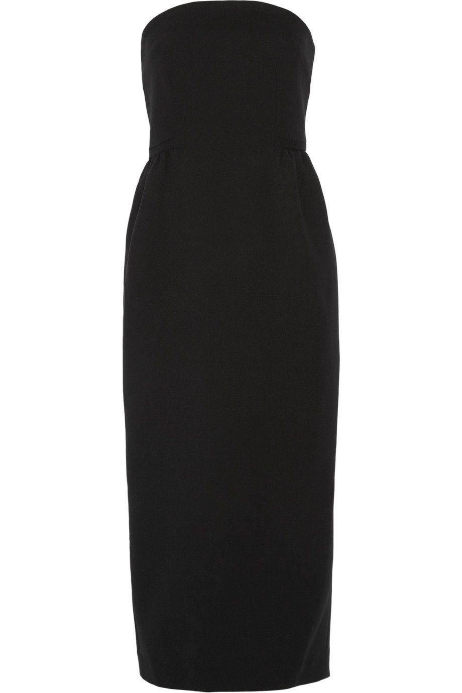 cf6003a5c5454 PROTAGONIST Wool-blend midi dress. #protagonist #cloth #dress ...