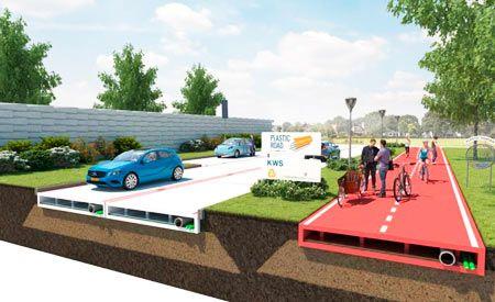 Arquitetura Sustentavel: Asfalto pode dar lugar a plástico reciclado nas ru...