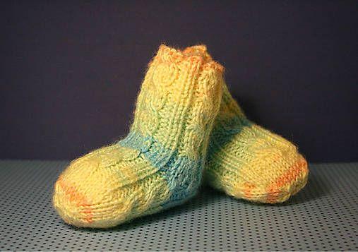 lurga / Ponožkule baby socks