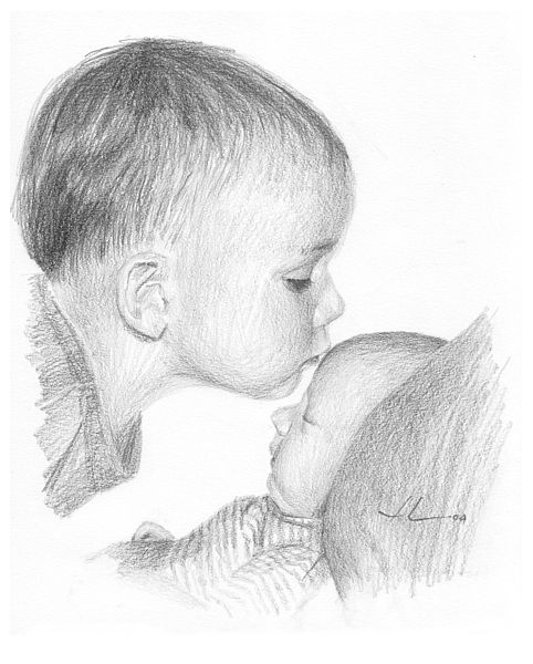 Pencil drawings pencil drawings baby images high definition pencil drawings