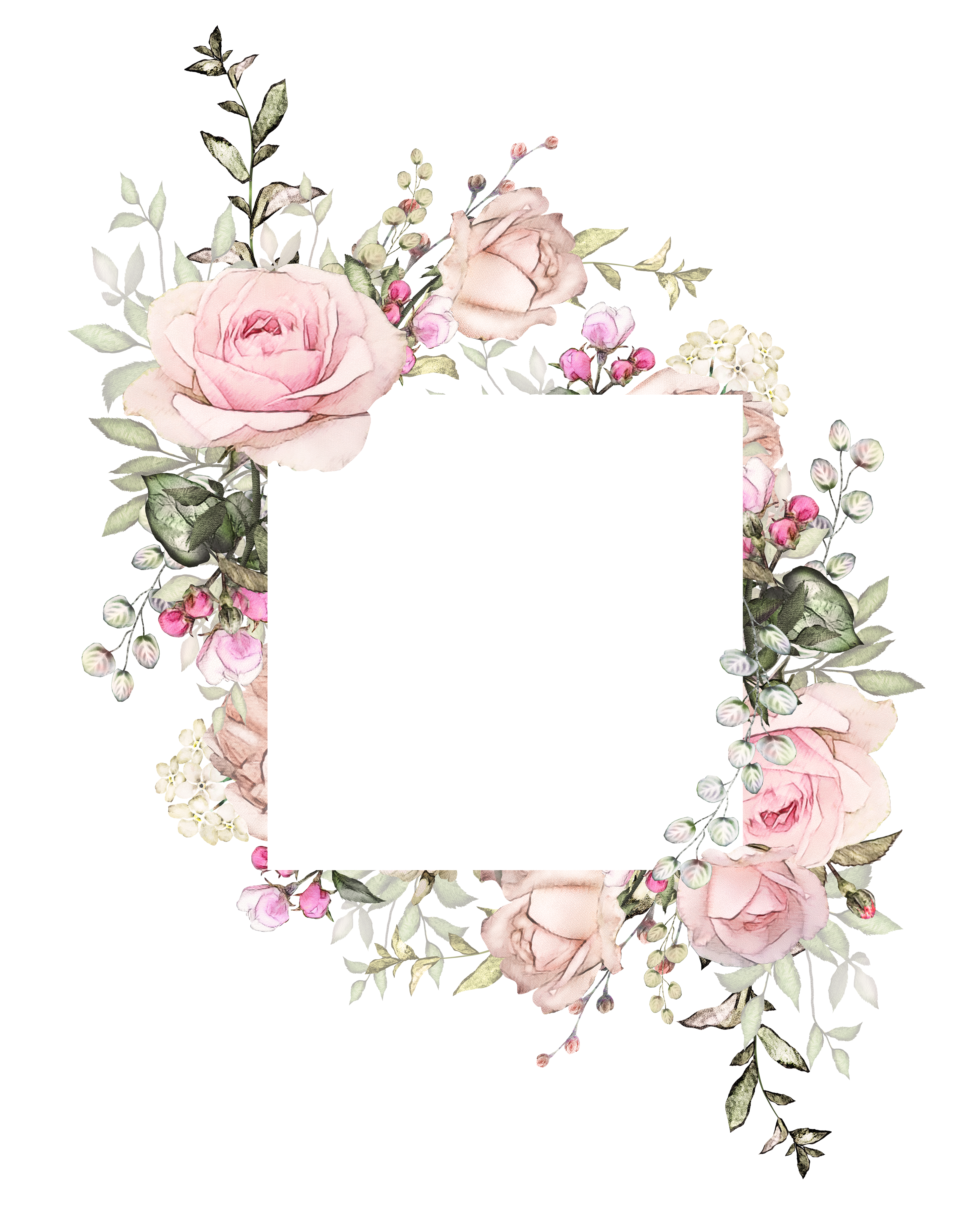 H746a 13 Tarjetas De Invitacion Virtuales Fondos De Flores