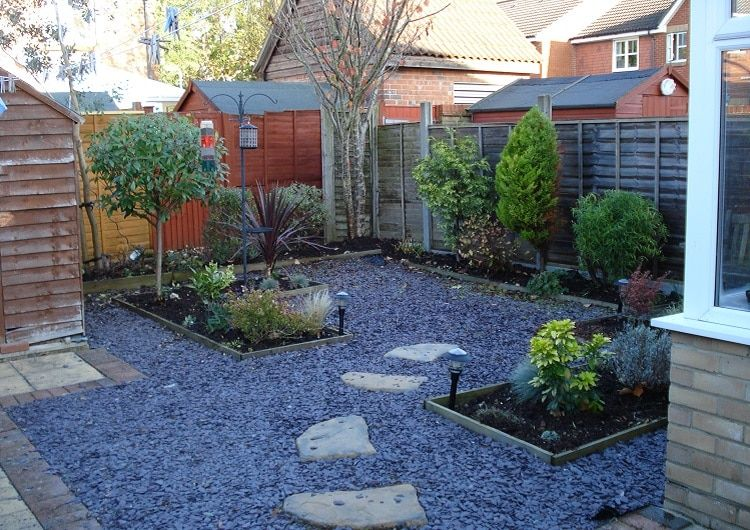 15 Interesting Ideas for Landscaping Without Grass | No ... on Small Garden Ideas No Grass  id=92088