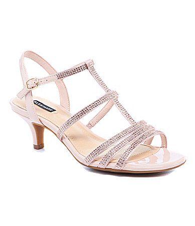 06d3063f2c6 Alex Marie Liaa Rhinestone Dress Sandals #Dillards | My September ...