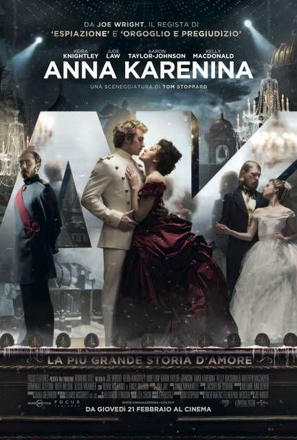 #AnnaKarenina Italian Poster