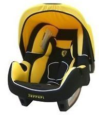 New Official Ferrari Infant Carrier Baby Car Seat Cat Yellow ...
