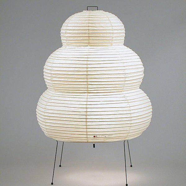 Akari 24n Le Petit Chou D Isamu Noguchi Floor Lamp Isamu
