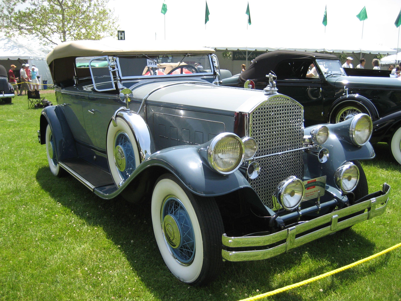 Nice 1930 Pierce Arrow Model B Motor Car Car Arrow