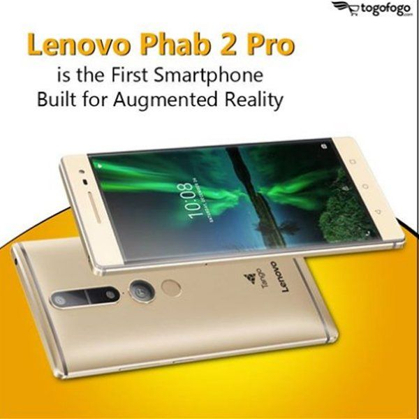#TechWatch Lenovo Phab 2 Pros uses Google's 3D-mapping Project Tango camera, allowing users to use their phones to map the world. #Lenovo