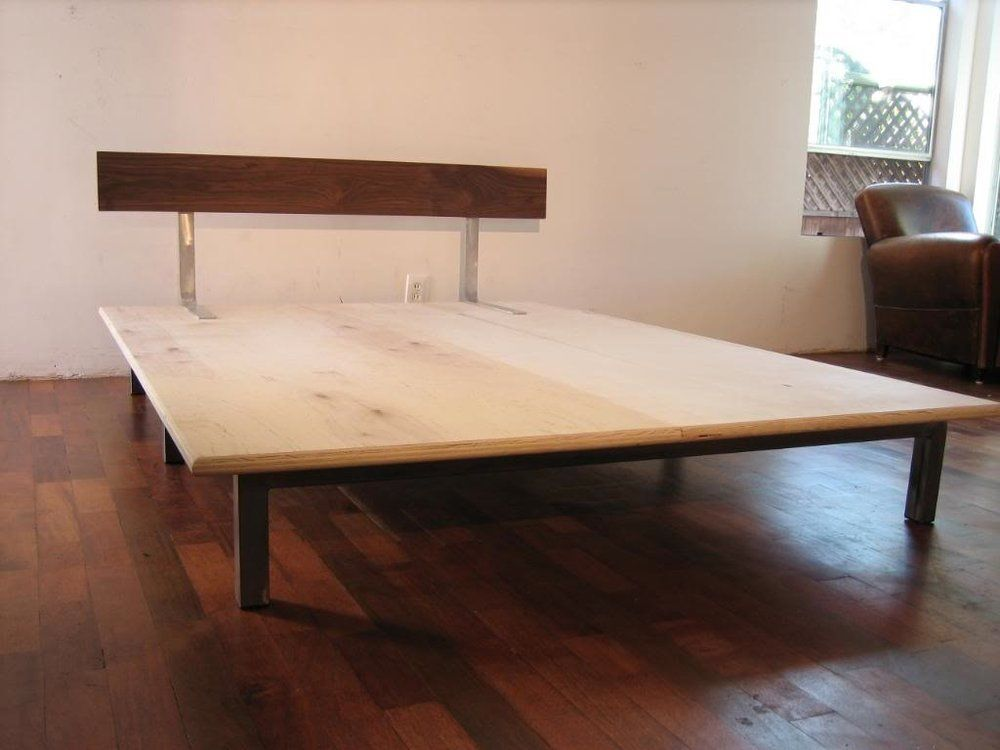 Plywood Bed Google Search Metal Platform Bed Modern Wall